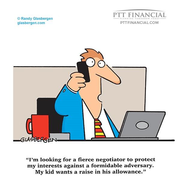 Ptt Financial Cartoon Of The Week Financial Planning