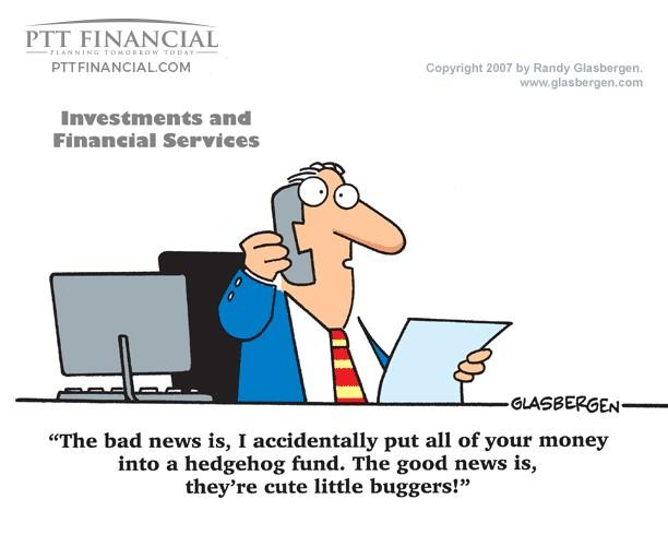 PTT Financial Cartoon of the Week: The Bad News Is …