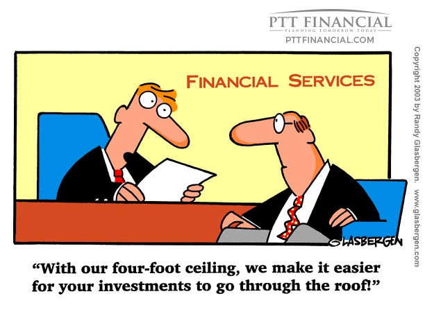PTT Financial Cartoon of the Week: With our Four-Foot Ceiling