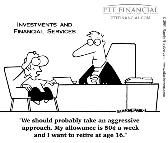 PTT Financial Cartoon of the Week: We Should Probably Take an Aggressive Approach